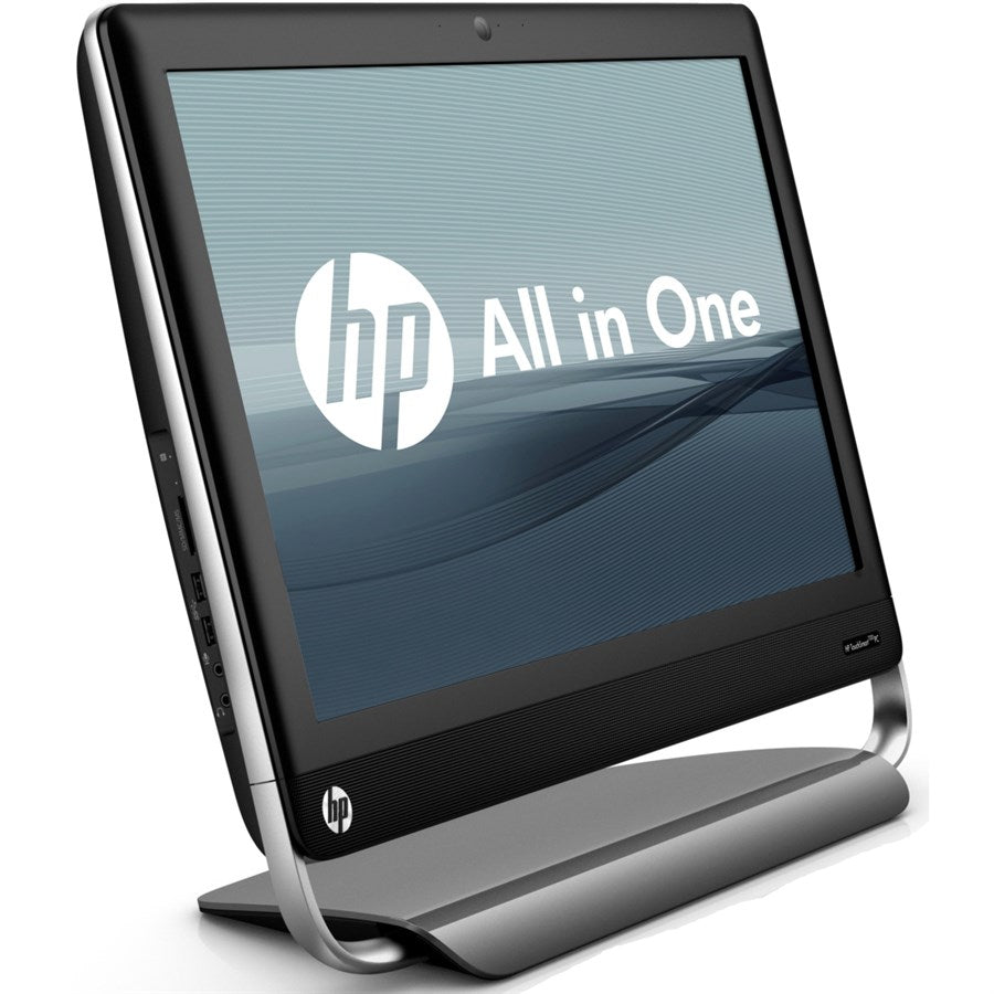 "HP AIO TouchSmart Elite 7320 FullHD 22"" TouchScreen All-in-One Computer Core i5-2405S Quad, 802.11b/g/n WiFi, 6GB RAM, 250GB HDD, USB Keyboard/Mouse, Win 10 Home - Coretek Computers"