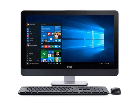 "Dell 9020 23"" TouchScreen AIO Core i7-4770S 3.10 GHz 8GB RAM 240GB SSD Win 10 Pro - Coretek Computers"