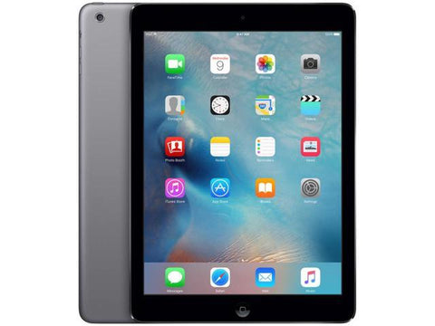 "Apple iPad Air Tablet (9.7"" Retina, Wi-Fi, 32GB) Space Gray A1474 MD786LL/A - Coretek Computers"