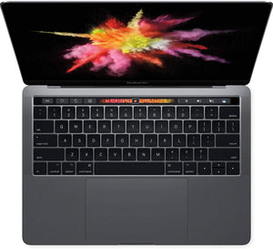 "Apple MacBook Pro Retina 13-Inch ""Core i5"" 3.1GHz Touch/Mid-2017 MPXV2LL/A A1706 Space Gray 16GB RAM 256GB SSD MacOS Mojave v10.14 - Coretek Computers"