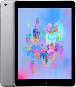"Apple iPad 9.7"" 6th Gen 128GB Wi-Fi Space Gray MR7J2LL/A A1893"