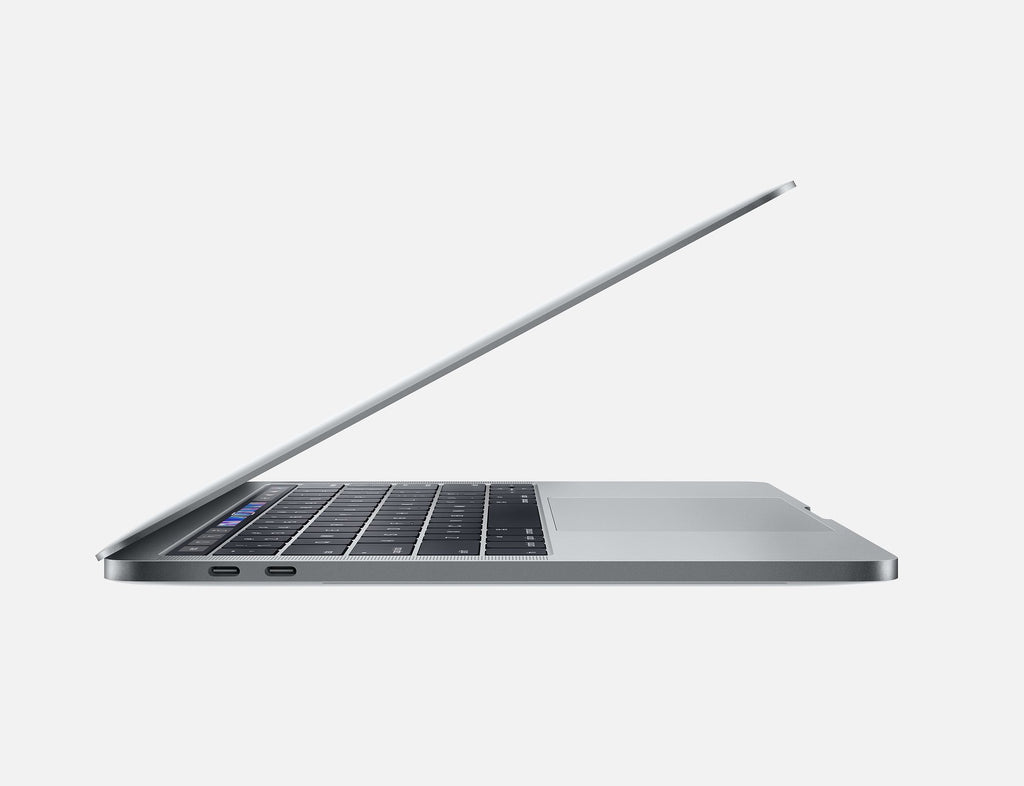 "Apple MacBook Pro ""Core i7"" 2.7 Touch Bar - 8th Gen Intel Core i7-8559U up to 4.50GHz, 16GB LPDDR3, 512GB SSD, 13.3"" Retina True Tone Display - Space Gray A1989 MR9Q2LL/A"