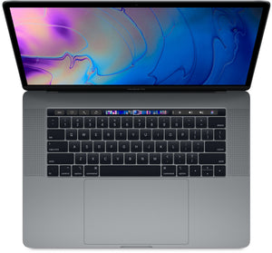 "Apple 15.4"" MacBook Pro with Touch Bar - 6-Core Intel® Core™ i9-8950HK 2.9GHz Processor (12M Cache) (up to 4.80 GHz), 32GB RAM, 512GB SSD, Radeon Pro 560X, Space Gray (Mid 2018) A1990 MR942LL/A (NEW-OPEN BOX) - Coretek Computers"