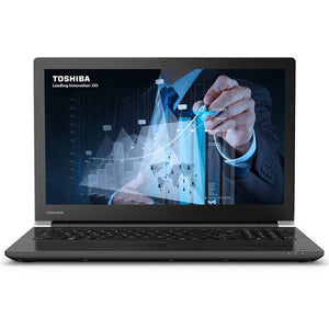 "Toshiba Tecra A50 15.6"" Laptop - Intel Core i5-6200U, 16GB RAM, 256GB SSD, WebCam, Win 10 Pro"