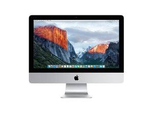 "Apple iMac 21.5"" A1418 ME699LL/A (2013) Intel Core i3 3.30 GHz, 4GB Ram, 500GB HDD, Mac OS X Mojave, USB Keyboard/Mouse - razor thin - Grade B"