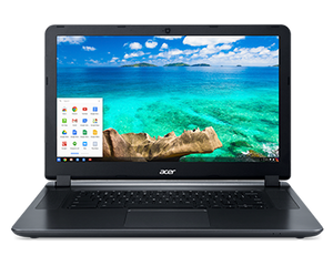 "Acer CB3-531 15.6"" LED Chromebook - Intel N2840 2.16GHz 4GB RAM 32GB SSD WebCam Chrome OS"