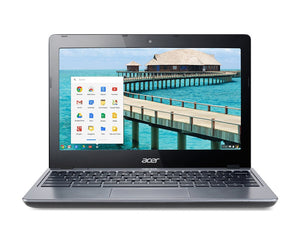 "Acer Chromebook C720-2103 11.6"" LED - 1.40GHz Intel Celeron 2955U, 16GB SSD, 4GB Mem, 11.6"" display (1366 x 768), WebCam, BT 4, 802.11a/b/g/n, Chrome OS"