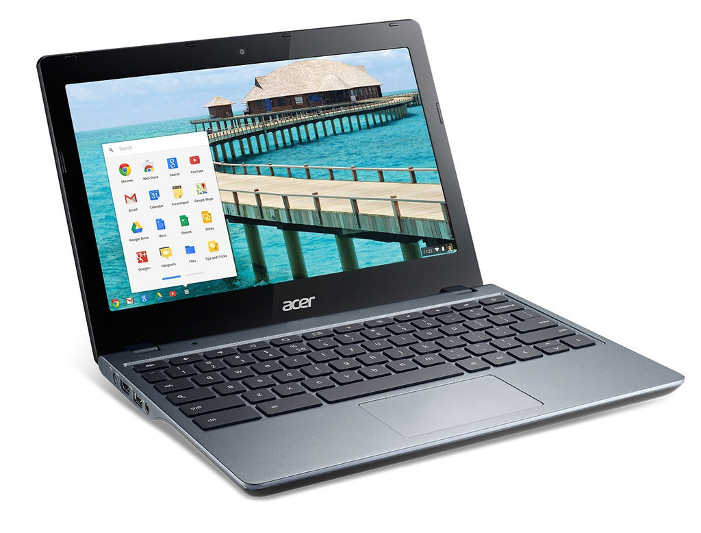 "Acer C720 Chromebook - Intel Celeron 2955U 1.40GHz 2GB RAM 16GB SSD WebCam 11.6"" Chrome OS - Coretek Computers"
