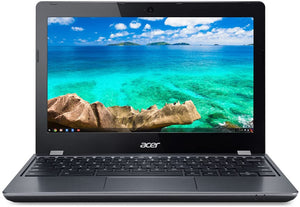 "Acer C740 11.6"" Chromebook - 5th Gen Intel Celeron Broadwell 3205U 1.5GHz, 16GB SSD, WebCam, 802.11 AC, Chrome OS - Coretek Computers"