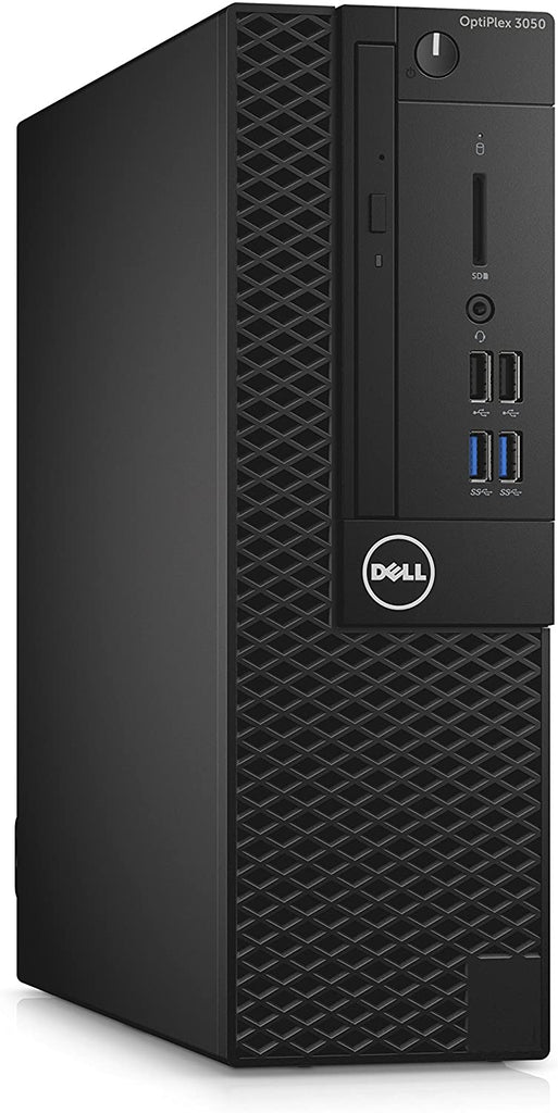 DELL 3050 SFF Desktop Computer - 6th Gen Intel Core i5-6500 3.2GHz, 8GB RAM, 240GB SSD, Windows 10 Pro, Keyboard & Mouse - Coretek Computers