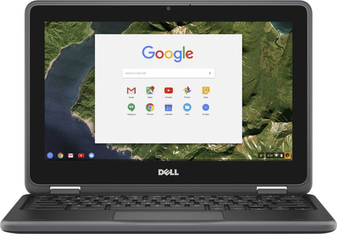 "DELL Chromebook 11 3180 Laptop - Intel Celeron® Processor N3060, 4GB RAM, 16GB SSD, 11.6"", WebCam, ChromeOS - Coretek Computers"