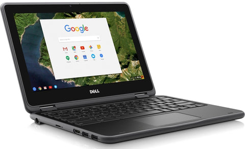 "DELL Chromebook 11 3180 Grade A Laptop - Intel Celeron® Processor N3060, 4GB RAM, 16GB SSD, 11.6"", WebCam, ChromeOS - Coretek Computers"