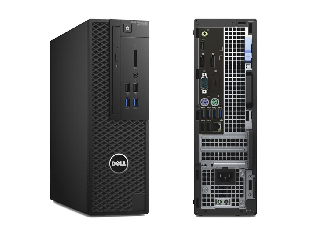 Dell Precision 3420 SFF Workstation - Intel Core i7-6700 (Upto 4.0GHz), 360GB SSD, NVIDIA Quadro K420 2GB, Win 10 Pro, Keyboard/Mouse