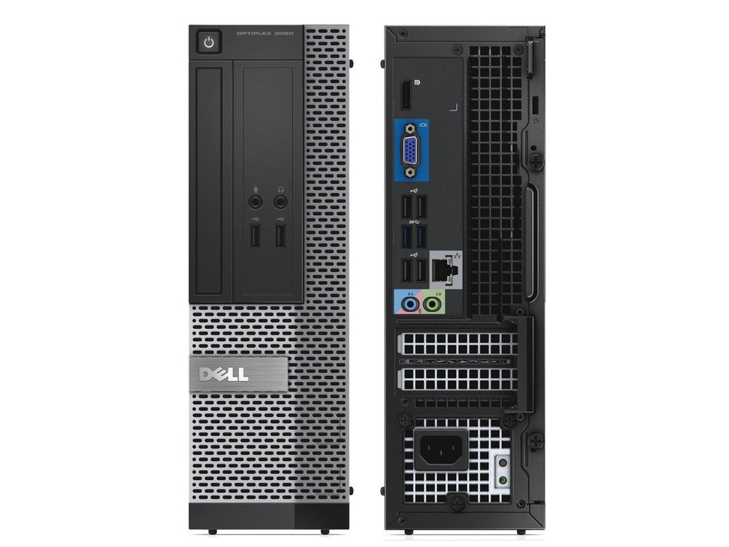 Dell Optiplex 3020 SFF Business Desktop - Intel Core i5-4570 (upto 3.60 GHz), 8GB RAM, DVDRW, Win 10 Pro, Keyboard & Mouse - Coretek Computers