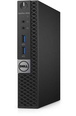Dell Optiplex 3040 USFF Micro Desktop - 6th gen Intel Core i3-6100T 3.2GHz 8GB RAM Win 10 Pro - Coretek Computers