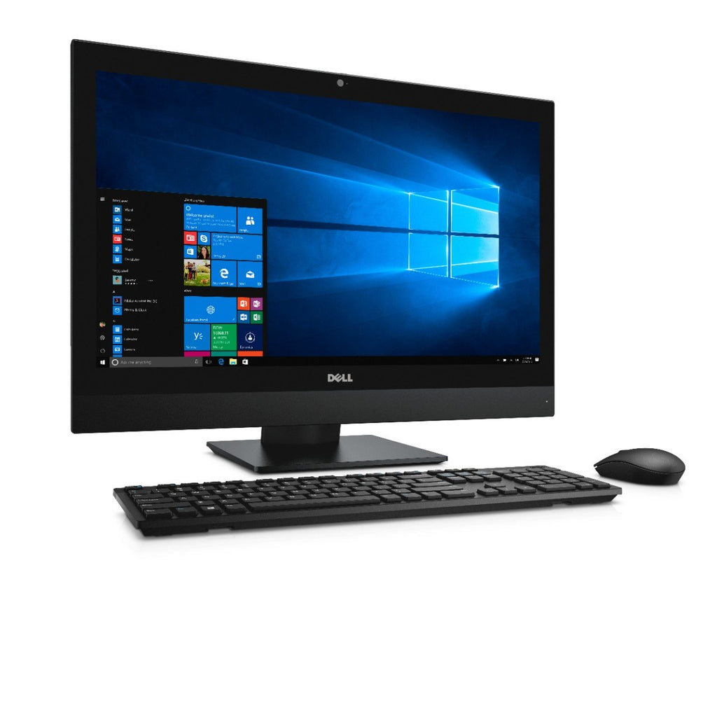 "DELL All-in-One OptiPlex 7450 24"" AIO Computer - 7th Gen Intel Core i5-7500 3.40GHz 8GB RAM 256GB SSD WiFi Windows 10 Pro USB Keyboard/Mouse - Coretek Computers"