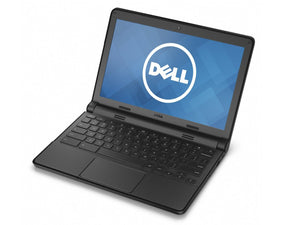 "DELL Chromebook 11 CB1C13 - Intel Celeron 2955U 2M Cache 1.40 GHz, 4 GB Memory, 16 GB SSD, 11.6"" display (1366 x 768), WebCam, BT 4, Wireless 2x2 802.11a/b/b/n WLAN, Chrome OS"