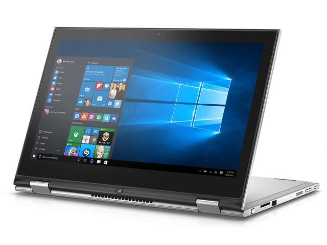 "Dell Inspiron 13 2-in-1 Touchscreen Laptop - Core i5-6200U, 13.3"" Truelife FHD 128GB SSD 4GB RAM Win 10 Pro - Coretek Computers"