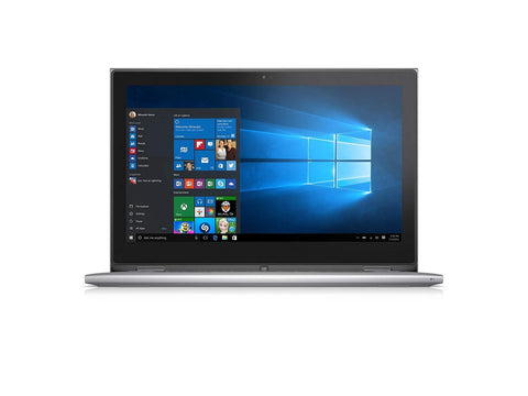 "Dell Inspiron 13 2-in-1 Touchscreen Laptop - Core i5-6200U, 13.3"" Truelife FHD 128GB SSD 8GB RAM Win 10 Pro"