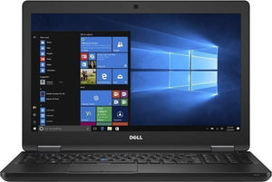 "Dell Latitude 5580 15.6"" (1920x1080) Business Laptop - 7th Gen Intel Core i7-7820HQ 2.90GHz Quad (up to 3.90GHz), 512GB SSD, WebCam, 802.11AC + BT 4.2, Windows 10 Pro - Coretek Computers"