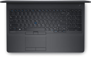 "Dell Latitude E5570 15.6"" FHD (1920x1080) - 6th Gen Intel Core i7-6820HQ 2.7GHz Quad, 16GB DDR4, 512GB SSD, WebCam, Bluetooth, AMD Radeon R7 M370 2GB, Win 10 Pro - Coretek Computers"