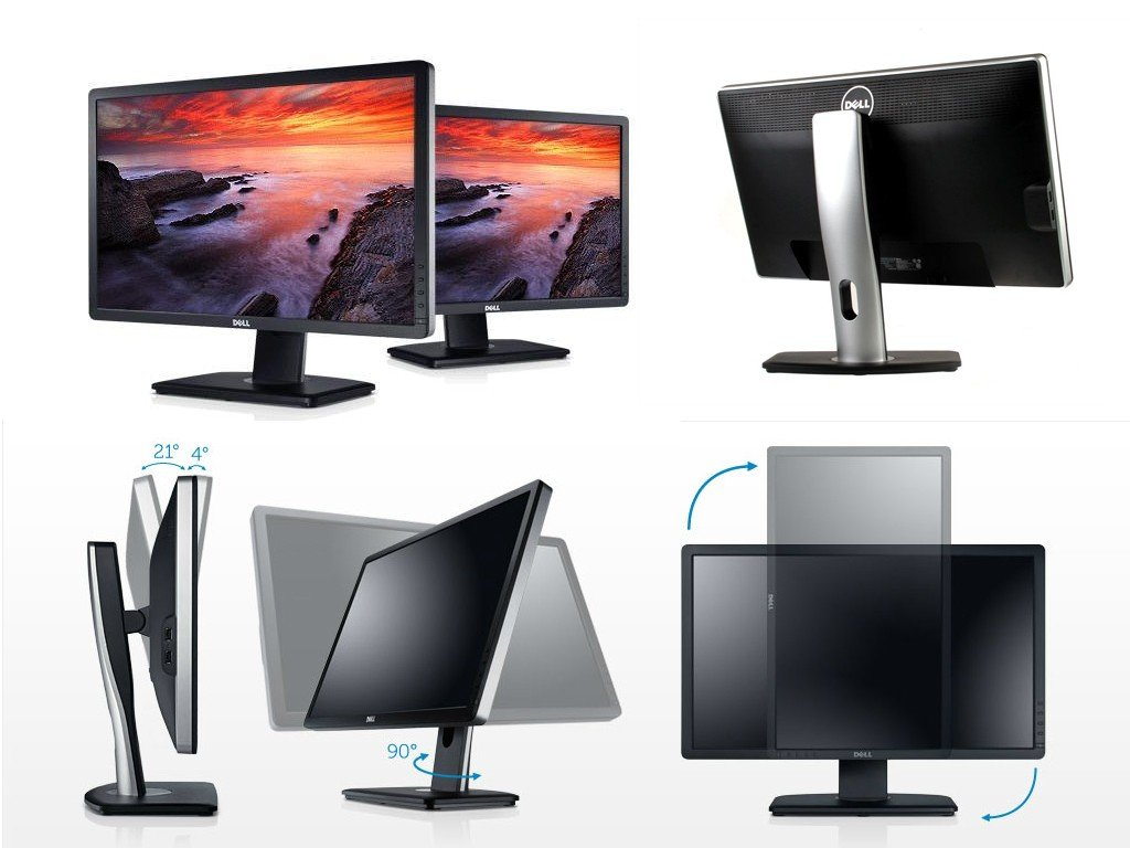 "Dell UltraSharp U2312H 23"" IPS LED LCD Widescreen Monitor 1920x1080 - Coretek Computers"