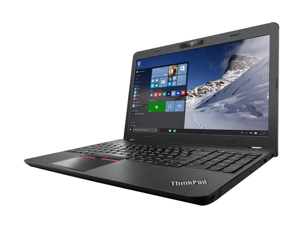 "Lenovo ThinkPad E560 15.6"" HD Laptop - Intel Core I5-6200U (upto 2.80 GHz), 16GB RAM, 256GB SSD, WebCam, DVDRW, Windows 10 Pro 64 bit"