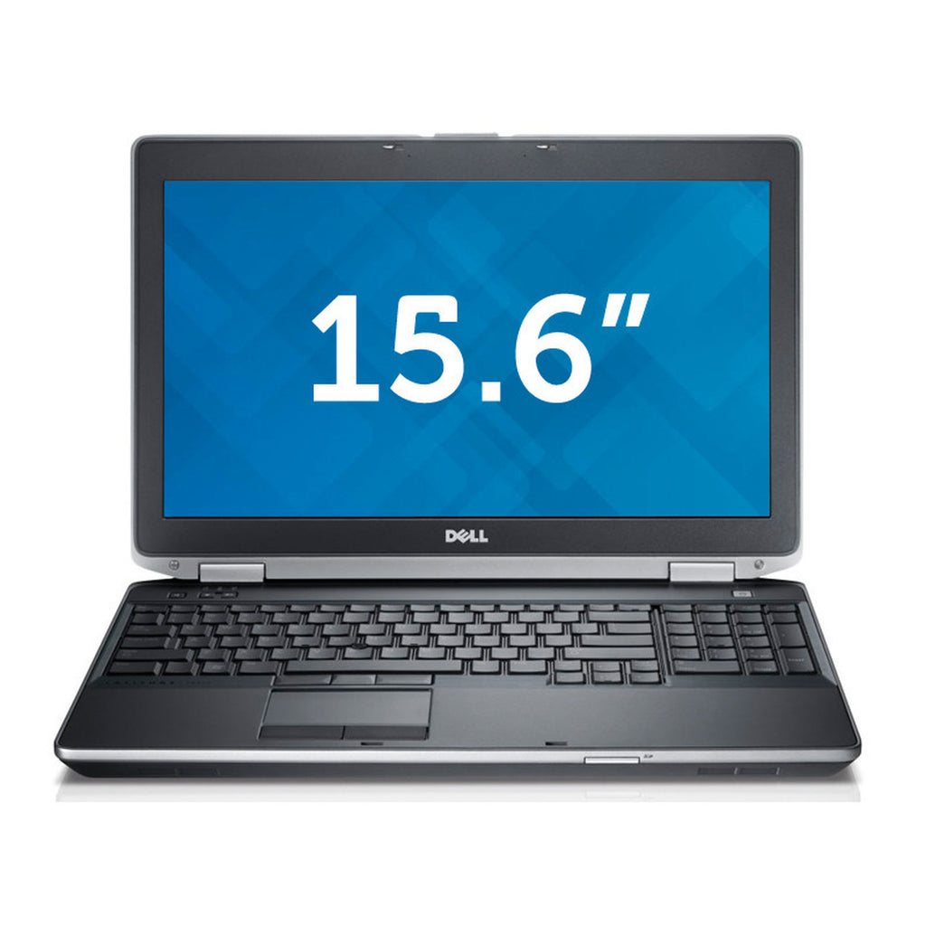 "DELL Grade A E6520 15.6"" Laptop - Intel Core i3-2330M 2.20GHz 8GB RAM 128GB SSD Windows 10 Pro 64-Bit - Coretek Computers"
