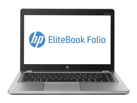 "HP EliteBook Folio 9470M 14.0"" Laptop - Intel Core I5 1.8GHz, 8GB RAM, 128GB SSD, WebCam, Win 10 Pro"