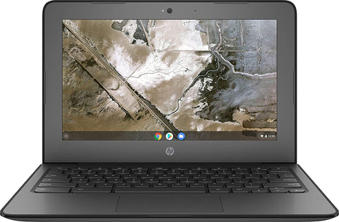 "HP 11A G6 EE 11.6"" Grade A Chromebook - 7th Gen AMD A4-9120C, Radeon R4 Graphics, 16GB SSD, 4GB RAM, WebCam, ChromeOS"
