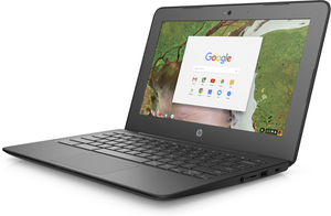 "HP Chromebook 11 G6 EE Grade A Laptop - Intel Celeron N3350 (upto 2.4Ghz), 4GB RAM, 16GB SSD, WebCam, 11.6"" LED, 802.11ac+BT 4.2, ChromeOS -"