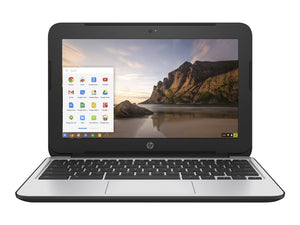 "HP Chromebook 11 G4 - Intel Celeron N2840 2.16GHz Dual Core, 4GB DDR3L, 16GB SSD, Intel Wireless 802.11a/b/g/n, BT 4.0, Webcam, USB 3.0, HDMI, 11.6"" LED (1366x768), Chrome OS"