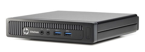 HP Elitedesk 800 G1 USFF Mini Computer - Core i5-4570T 2.9GHz, 8GB RAM, Win 10 Pro, Keyboard & Mouse - Coretek Computers