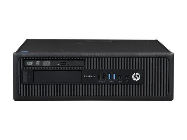 HP EliteDesk 800 G1 SFF - 4th Gen Intel Core i5-4570 Quad, 8GB RAM, 120GB SSD, DVDRW, Win 10 Pro, Keyboard & Mouse - Coretek Computers