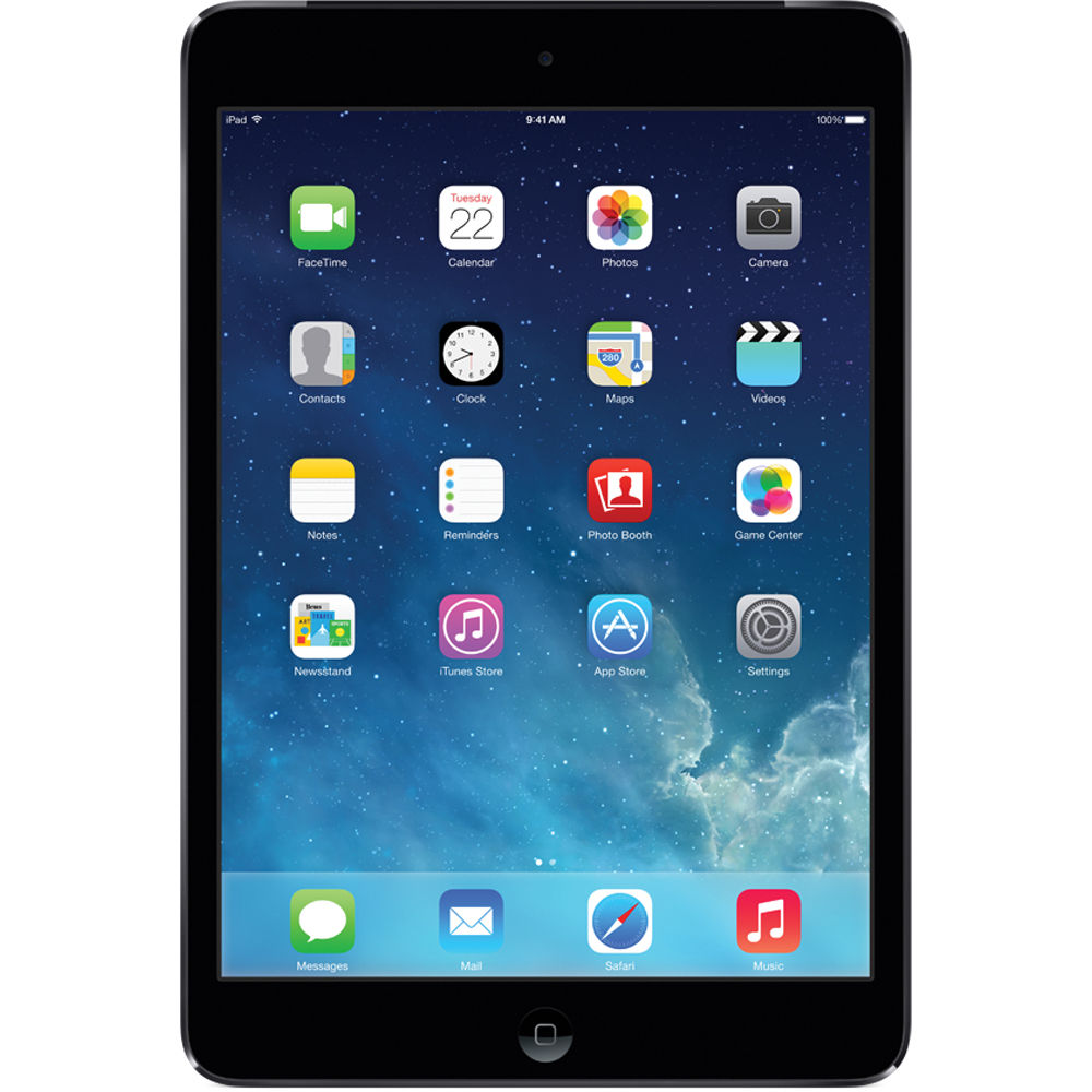 Apple iPad mini 2 (Retina/2nd Gen, Wi-Fi/Cellular) AT&T LTE - Space Gray A1490 MF066LL/A Unlocked - Coretek Computers