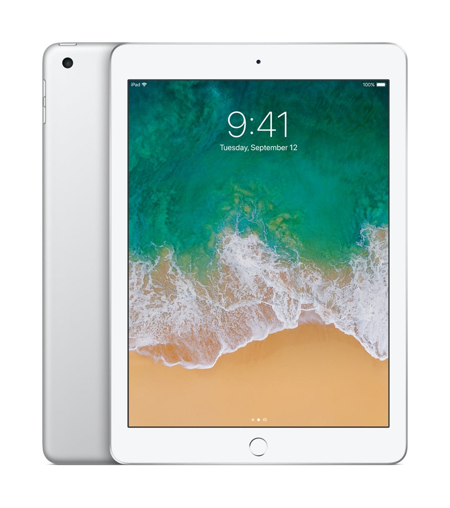"Apple iPad 9.7"" (2017) 5th Gen 32GB MP2G2LL/A A1822 (Wi-Fi) White Grade B - Coretek Computers"