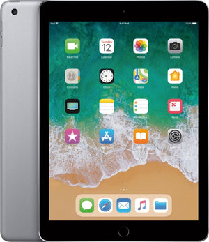 "Apple iPad 9.7"" (2017) 5th Gen 32GB MP2F2LL/A A1822 (Wi-Fi) Black/Space Gray - Coretek Computers"