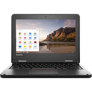"Lenovo ThinkPad 11e Chromebook  - Intel N2930 Quad 1.83GHz 4GB RAM 16GB SSD WebCam 11.6"" ChromeOS - Coretek Computers"