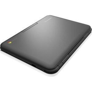 "Lenovo N21 11.6"" Chromebook Laptop, Intel N2840 2.16GHz Dual-Core, 16GB Solid State Drive, 4GB Ram, 802.11ac, ChromeOS - Coretek Computers"