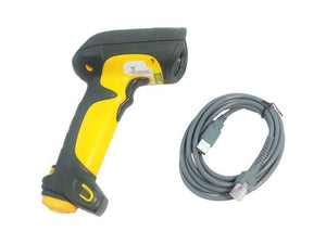 LS3408-ER Barcode Scanner Long Range, Rugged, Includes 7FT USB Cable CBA-U01-S07ZAR - Coretek Computers