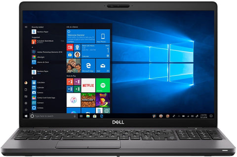 "Dell Latitude 5501 15.6"" FHD Business Laptop - 9th Gen i7-9850H 6-Core (upto 4.60GHz) 32GB DDR4 512GB SSD WebCam Win 10 Pro - Under Dell Warranty until FALL 2022"