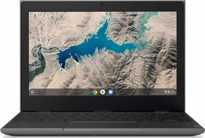 "Lenovo 100E 11.6"" Chromebook (2nd Gen) - Intel N4000 4GB RAM 32GB SSD 802.11ac+BT 5 WebCam Chrome OS"