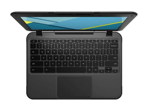 "Lenovo N22 Chromebook 11.6"" Laptop - Intel N3050 1.60GHz, 4GB RAM, 16GB SSD, WebCam, 802.11ac+BT 4, ChromeOS - Coretek Computers"
