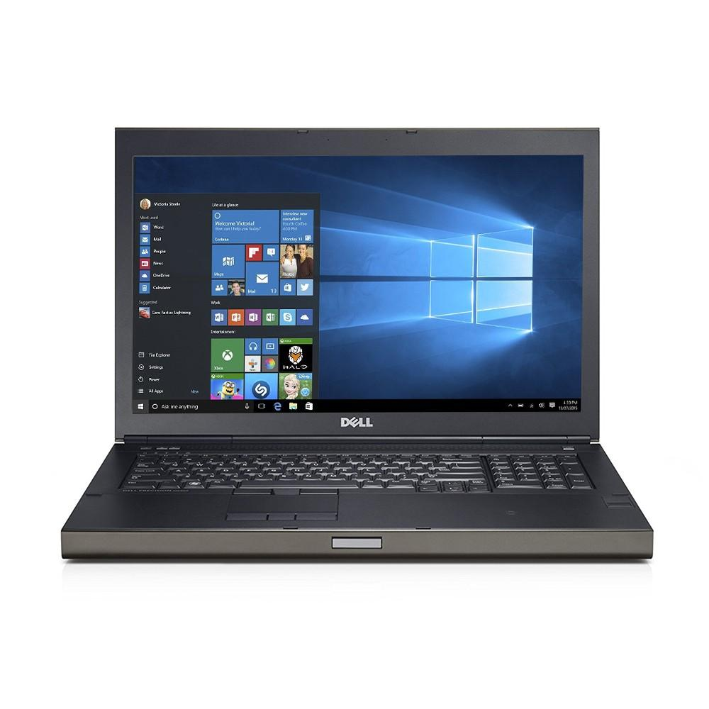"Dell Precision M6800 17"" Mobile Workstation - Intel Core i7-4930MX Quad Core Extreme upto 3.9GHz, 32GB RAM, 256GB SSD + 1TB HD, WebCam, Nvidia K4100M 4GB GDDR5 Video, 1920x1080 Res, Win 10 Pro - Coretek Computers"
