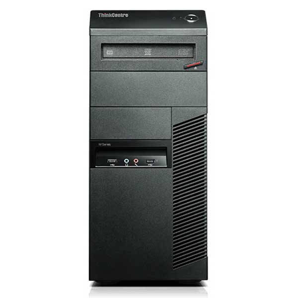 Lenovo ThinkCentre M92p Tower - Intel Core i7-3770 3.4GHz Quad, 16GB RAM, 240GB SSD, DVDRW, Win 10 Pro, Keyboard & Mouse - Coretek Computers