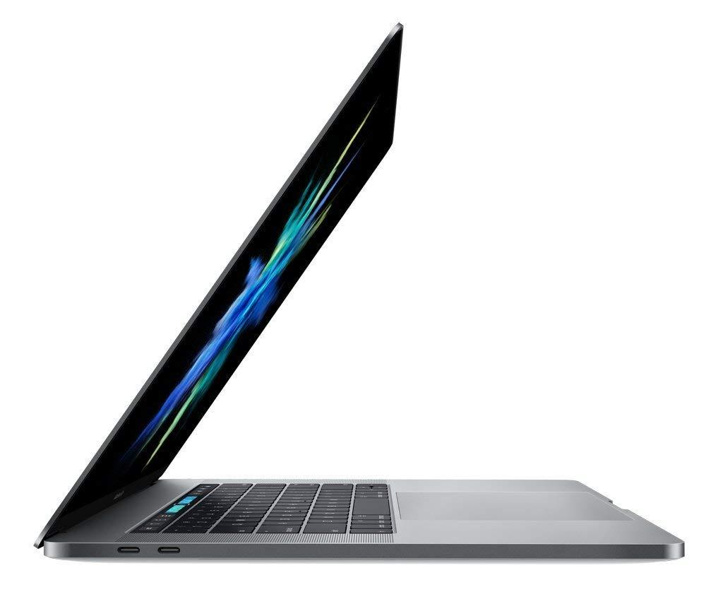 Apple Macbook Pro 15.4-inch (Retina DG, Space Gray, Touch Bar) Core i7 2.7Ghz Quad (Late 2016) A1707 MLH42LL/A 512GB SSD 16GB Mem MacOS High Sierra