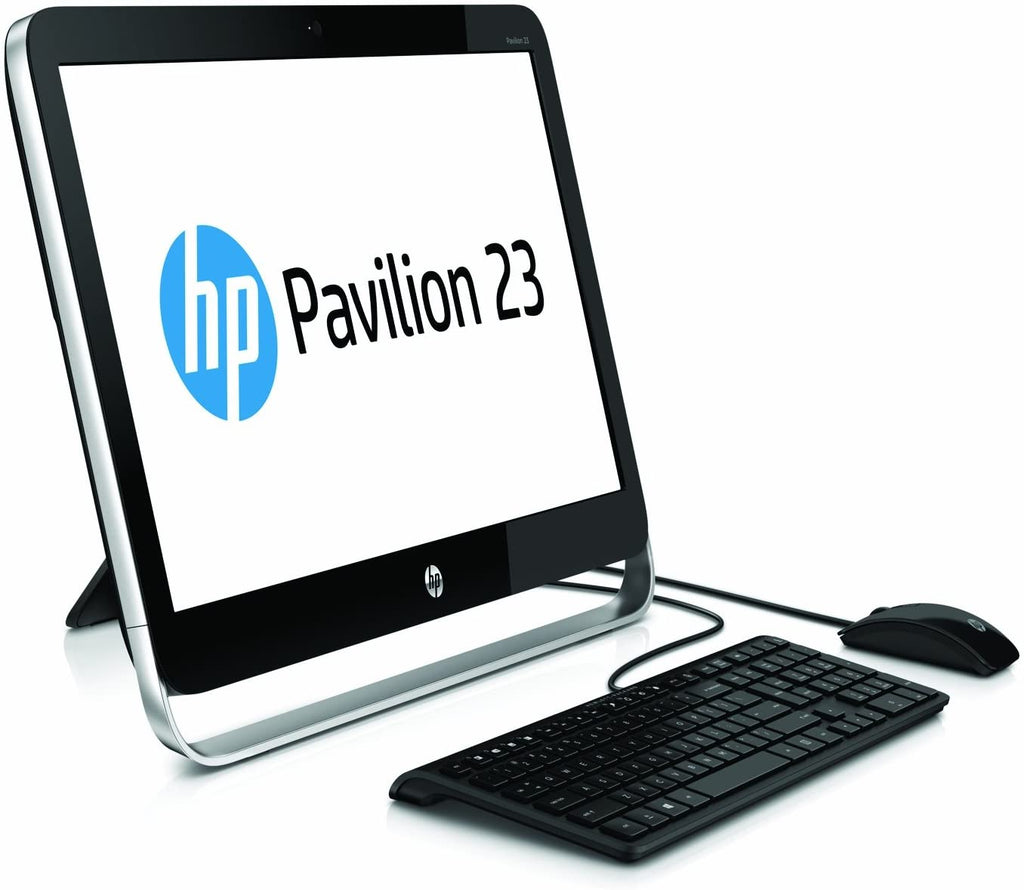 "HP Pavilion 23"" FHD 1920x1080 AIO Computer - Intel Pentium G3220T 2.6GHz, 8GB RAM, DVDRW, WiFi, Win 10 PRO, Keyboard & Mouse - Coretek Computers"
