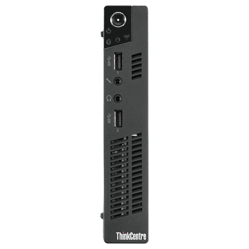 Lenovo ThinkCentre M73 Tiny Computer - Intel Celeron G1820T 2.9GHz 4GB RAM 128GB SSD WiFi Win 10 Pro Keyboard/Mouse - Coretek Computers