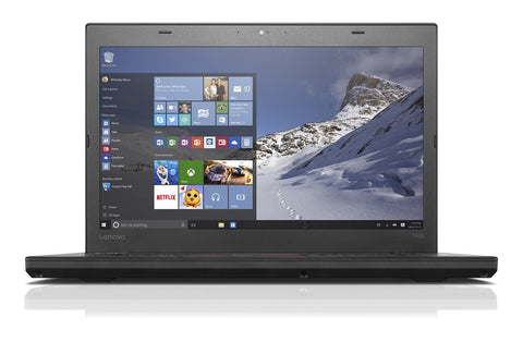 "Lenovo ThinkPad T460 1920x1080 FHD Laptop - 6th Gen Intel Core i5-6300U (upto 3.00 GHz) 256GB SSD 14.0"" WebCam Win 10 Pro - Coretek Computers"