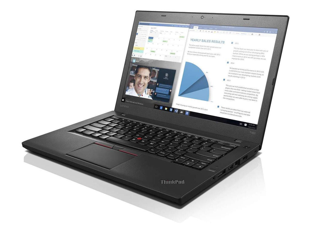 "Lenovo ThinkPad T460 14"" FHD IPS  Ultrabook - Core i7-6600U 16GB DDR4 512GB SSD Win 10 Pro Grade A - Coretek Computers"